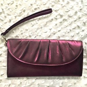 ‼️NWT‼️ Dark Purple Clutch Wristlet